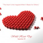world heart day Saturday, 29 September 2012